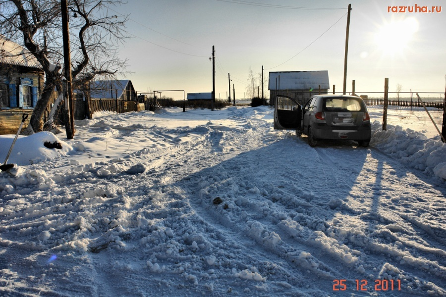 жизнь пенсионера в Российской деревне Плеханы