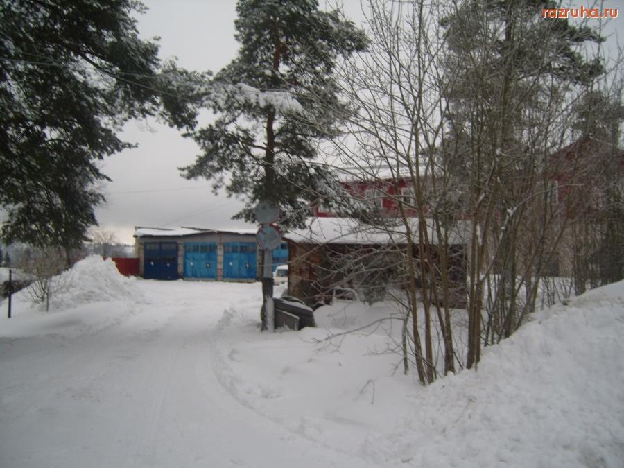 Снег вывозится только в центре города